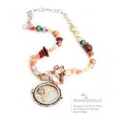 2012 Innovation Team Member, Erin Prais Hintz, using Nunn Design Scalloped Locket.
