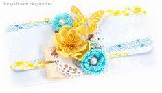 Tanya Flower: Подарочный конверт Morning Star - Blue Galeria Papiery