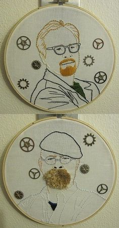Of course I think of @kathleen when I see crafting and beardy mustaches!