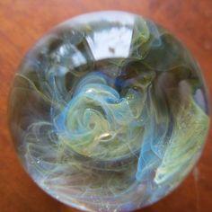 contemporary handmade glass marble craft/art 15/16 inch #Glass