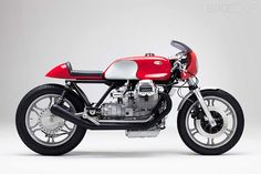Moto Guzzi cafe racer by Axel Budde for Kaffeemaschine