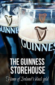 The Guinness Storehouse: Home of Ireland's Black Gold – On the Luce travel blog