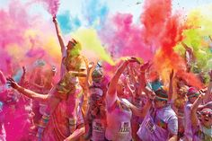 The sixth annual Colour Run is the largest event series of its kind in the world and the fun and magical course makes it a family-friendly event. Fake Friend Quotes, Fake Friends, Michel Fugain, Holi Special, Senior Activities, Girl Photo Poses, Photo Shoot, Happy Holi, Positive Vibes Only