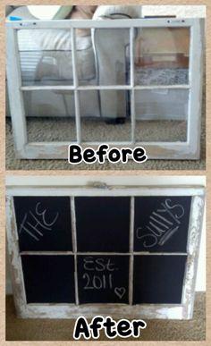 Chalk board spray paint