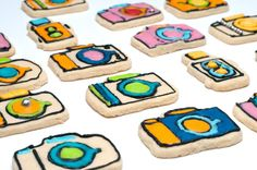 Camera Cookie Cutters...how cute!