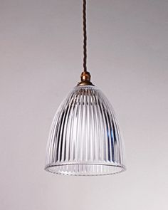 Peterstow Prismatic Pendant Light | Fritz Fryer