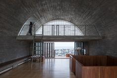 Kapelle unterm Dach - Vector Architects bauen Wohnhaus in China um