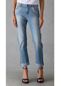 Jeans boyfriend C70110 Luisa Ladies Pants L32 - 2235 summer shadow