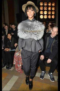Rihanna Paris Couture Fashion Week 14-15