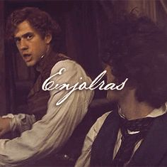 just a reminder, that this gif of Enjolras was before he died. goodbye.