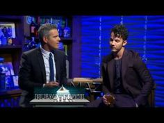 Kevin Jonas on Watch What Happens Live Plead the fifth Preshow