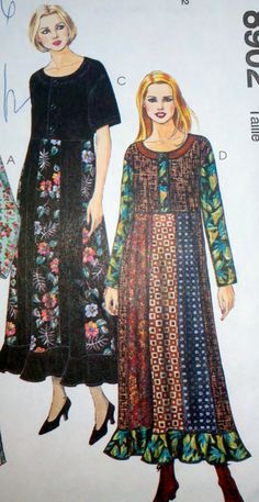 Women's Sewing Pattern McCall's 8902 by Sutlerssundries on Etsy, $6.00