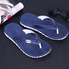 7d10f323f Cheap Summer Men Flip Flops Bathroom Slippers Men Casual PVC EVA Shoes  Fashion Summer Beach Sandals Size 40~45 zapatos hombre
