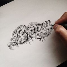 Raul Alejandro is a freelance illustrator and a designer living in New York City. Raul started a series on Behance called Hand Type Volumes and it's basically Typography Sketches all obviously hand drawn.