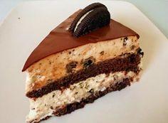 עוגת שכבות אוראו מושחתת - FoodisGood מתכונים Apple Recipes, Cake Recipes, Party Recipes, Chocolat Cake, Chocolate Deserts, Bread Cake, Yummy Cookies, Cake Cookies, Desert Recipes