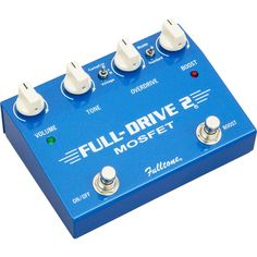 Fulltone Fulldrive2 MOSFET Overdrive/Clean Boost Guitar Effects Pedal  $152