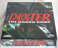 Dexter: The Board Game - New & Sealed