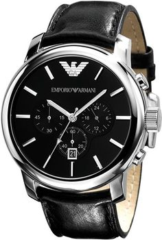 Emporio Armani Classic #Watch man without a watch ?? Not complete !