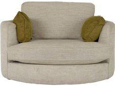 Bermuda Swivel Cuddler Chair, Lee Longlands