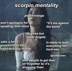 Astrology Scorpio, Scorpio Zodiac Facts, Zodiac Funny, Zodiac Signs Scorpio, Zodiac Memes, Zodiac Star Signs, Zodiac Sign Facts, My Zodiac Sign, Zodiac Quotes