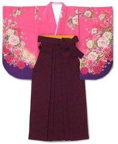 Amazon.co.jp: 卒業式 入学式 袴 無地 単品 6色カラー&Sサイズ~3Lサイズ: 服&ファッション小物