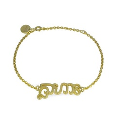 14K Gold Vermeil Bracelet  Additionally it is for a cause. <3