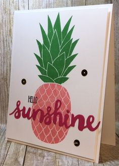 Want to share a little sunshine?  This is the perfect card!