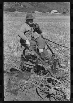 Farmer in Animas River Valley, La Plata County, Colorado Photographer Russell Lee September 1940