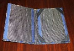 Funda para kindle o tablet DIY cover made with fabric and cardboard