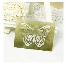 Items similar to vintage butterfly stencial for Paper Crafting Brass embossing stencil on Etsy Jam Favors, Custom Rubber Stamps, Love Stamps, Vintage Butterfly, Stamp Making, Physical Condition, Custom Logos, Paper Crafting, Teacher Gifts