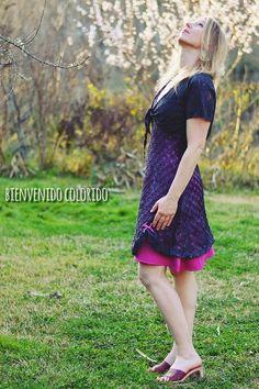 bienvenido colorido: La Playa summer dress, #farbenmix #sewing #nähen #naehen