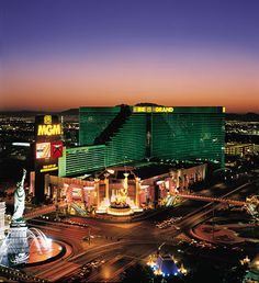 MGM Grand - Attended a friend's wedding in Las Vegas and stayed at this luxurious hotel. Cannot forget the beautiful tigers that are housed there.