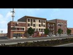 Minecraft Shops, Minecraft City Buildings, Minecraft Architecture, Minecraft Creations, Minecraft Ideas, Minecraft Construction, City Model, Building Ideas, 1980s