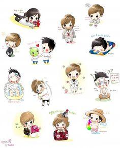 Henecia Worldwide KHJ - 김현중 Fan Club Cute HJ fan art ❤❤❤❤  Cr. Owner   Admin. @Angie Ng