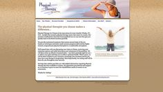 Physical Therapy for Women #WebsiteDesign by #SageIsland