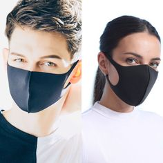 Unisex Couples Windproof Mouth Mask Three Layers Hip-Hop Stripes Letters Printed