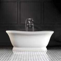 Billedresultat for fritstående badekar