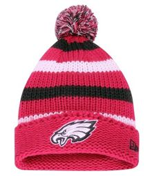 Add some pink to your collection of #Eagles green