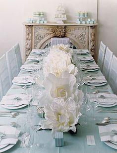 long table runner-via elegant bride
