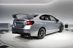 2015 subaru wrx sti pictures | 2015 Subaru Wrx Sti Rear Three Quarter