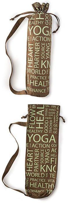 HemingWeigh Yoga Mat Bags (Terra Brown)