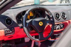 #Ferrari interior