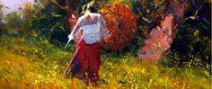 Robert Hagan 1947 |  Australia Plein-aire pintor impresionista