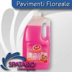 6 confezioni di lavapavimenti Deo Brill Floreale da 3000 ml
