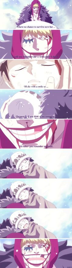 THIS! I cry SO HARD everytime I watch this scene. (Most of Law's past, really)