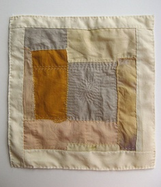 I like the simplicity and the hand quilting - Cathy Cullis