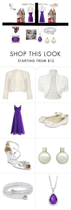 """""""Seth - Bridesmaid - Twilight Wolf Pack Preferences"""" by kittycatpower on Polyvore featuring WearAll, Monsoon, Badgley Mischka and City Rox"""