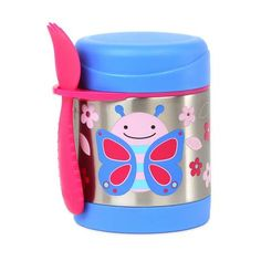 Skip Hop S15 Zoo Food Jar - Butterfly Butterfly