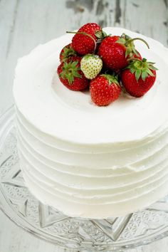 this makes me think of japan. strawberry cake is a huge thing there, and the…