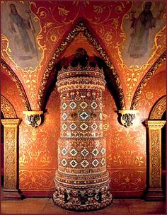 Moscow, throne room of the Terem Palace; Little Palace inspiration
